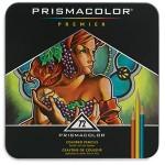 Prismacolor Soft Core Coloured Pencils Tin 72pc