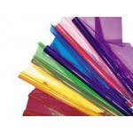 CELLOPHANE asstd Colours 900x1000mm 12sh