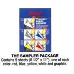 SARAL TRACING CARBON Sampler A4 5pc