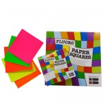 BRENEX SQUARES Matt Fluoro 127x127mm 100pc