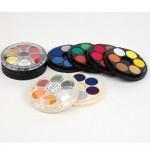KOH-I-NOOR POSTER PAINT PAN SET Standard Colours 24pans