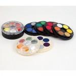 KOH-I-NOOR POSTER PAINT PAN SET Bright Colours 12pans