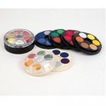 KOH-I-NOOR POSTER PAINT PAN SET Bright Colours 24pans