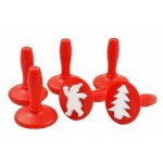 PAINT STAMPERS Christmas 6pc