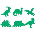 PAINT STAMPERS Dinosaurs 6pc