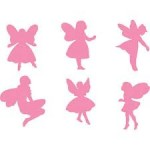 PAINT STAMPERS Fairies 6pc