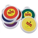 PAINT STAMPER PADS Asstd Colours 160mm 6pc