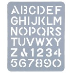 ESSELTE LETTERING STENCIL 51mm