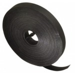 HOOK & LOOP FASTENER 25mm BLACK Hook 25m