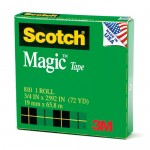 Scotch Invisible Tape 19mm x 66m
