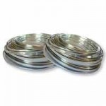 Bendable ARMATURE WIRE Flat 5mmx50m Silver