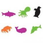 FOAM SHAPES Sealife 60pc