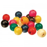 BEADS WOODEN