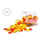 COUNTERS 25mm Red Yellow 200pc