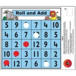 Roll and ADD MATH DESK GAME