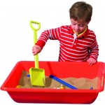 SAND AND WATER TRAY RED