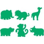 PAINT STAMPERS Jungle Animals 6pc