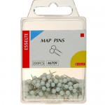 Mapping Pins Assorted Colours 7-10mm 200pc